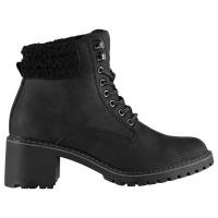 SoulCal Ladies Luis Boots - Black [Parallel Import] Photo
