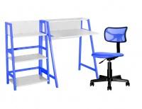Harper - Kids Study Desk Bookshelf and Chair Set - 3 Piece Photo