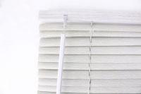 25mm PVC Wood Grain Venetian Blinds - 1000mm x 1200mm/100x120cm Ashen Grey Photo