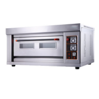 CHEF HOME Pizza Oven Electric Single Deck 2 tray Photo