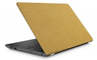 Graffiti Laptop Skin Gold Bling Photo