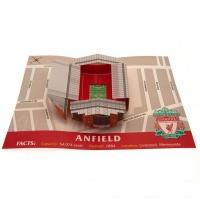 Liverpool FC Liverpool Anfield Stadium Pop Up Greeting Card Photo