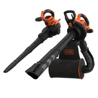Black Decker 72l Backpack Blower Vacuum and Mulcher Photo