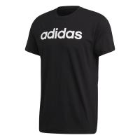adidas - Men's Essential Linear Tee - Black Photo