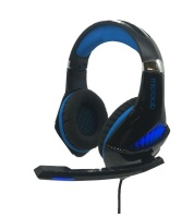 MICROLAB G6 Novelty Pro Gaming Headset - Blue Photo