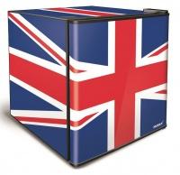 46L Counter-Top Mini Fridge - Union Jack Flag Photo