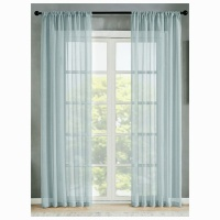 Matoc Designs Matoc Readymade Curtain 218cm Height -Mystic Voile -Rod Pocket -Off White Photo