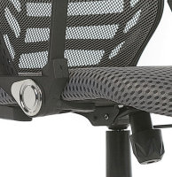 Ergonomic Swivel Mesh Computer Office Chair with Tilt Lumbar Support Photo