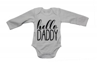 Hello Daddy - LS - Baby Grow Photo