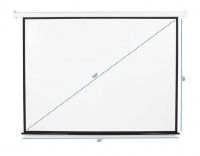 100'' Electric Projector Screen with Remote Photo