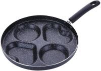 """4"""" 1 Egg Pancake Multi Sectional Frying Pan Photo"""
