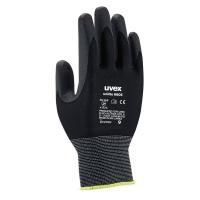 Uvex Unilite Safety Gloves - Black Photo