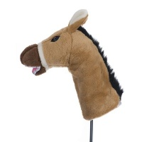 Golf Driver Cover - Horse Photo