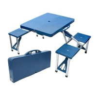 Eco Folding Picnic Table with 4 Seats Photo