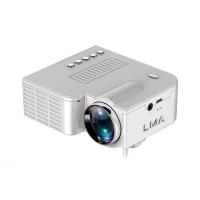 LMA- Portable Mini LED Entertainment Projector - White Photo