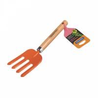 Bulk Pack 2 x Tramontina Garden Hand Fork - Orange Photo