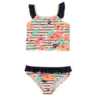 SoulCal Baby Girls 2 Piece Swim Set - Summer Floral [Parallel Import] Photo