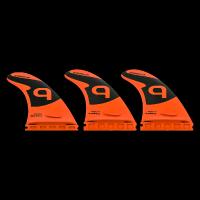 Quobba surf fins - Q - Medium Thruster Set - Single Tab Photo