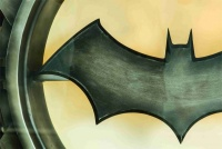 Graffiti Laptop Skin Batman Logo Photo