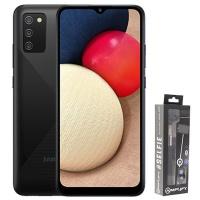 Samsung A02s DS Black BT Selfie Stick Cellphone Photo