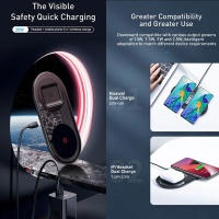 Baseus 24W Simple 2in1 Wireless 12V EU Cellphone Cellphone Photo