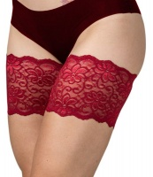 Bandelettes Dolce Red - Anti-Chafing Thigh Bands Photo