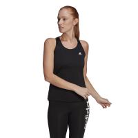 adidas Women's 3-Stripe Training Tank - Black/White Photo