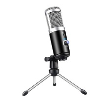 Professional USB Cardioid Condenser Microphone System & Pivot Tripod Stand Photo