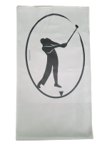 Golf - Light Grey Suede Microfiber Towel Photo