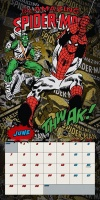Spider Man Spider-man Official 2021 Square Wall Calendar Photo