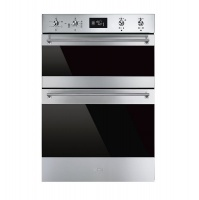 Smeg DOSF6390X Double Stainless Steel Oven Photo