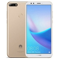 Invens Huawei Y7 2018 Gold Cellphone Cellphone Photo