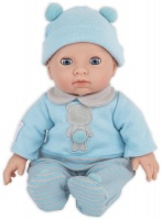 Treasures My First Baby Blue Outfit Photo