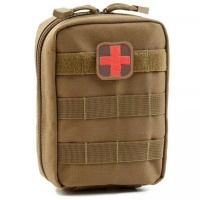 Efficient Camper Medical First Aid Pouch Military Utility EMT Pouch Photo