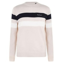 Pierre Cardin Mens Chest Jumper - Oatmeal [Parallel Import] Photo