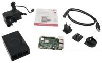 Raspberry Pi Multicomp Pro RPI4-MP-STARTER KIT-BLK-4GB 4B Starter Kit Photo