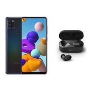 Samsung A21s Black & Belkin Soundform TWS Buds Black - Bundle Cellphone Cellphone Photo