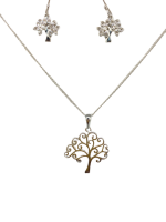 Unexpected Box Tree of Life Earring & Necklace Set Photo