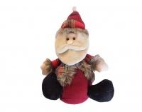 Christmas Decor - Sitting Santa Photo