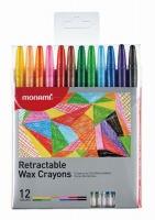 Mon Ami Mon-Ami 12 Retractable Crayons Photo