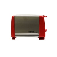 Conic Stainless Steel Premium 2-Slice Toaster - Red Photo
