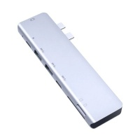 7 Ports Portable USB 3.0 Type-C Hub to HDMI Adapter For Mac Book Pro Photo