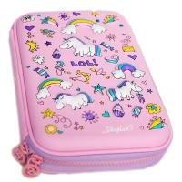 Skylar Hard Shell Pencil Case - Unicorn Photo