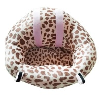 Baby Support Seat Sofa - White and Pink Photo