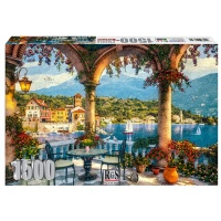 RGS Group Mediteranean Balcony 1500 Piece Jigsaw Puzzle Photo