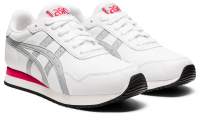 ASICS Women Tiger Runner Lifestyle Shoes - White/Piedmont Photo