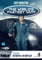 Guy Martin's the World's Fastest Van? & Robot Car Photo