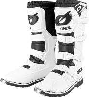 ONeal Racing O'Neal Rider Pro White Boots Photo