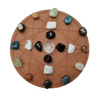 Lizzys Sacred Space Lizzy's Sacred Space - New Year Intentions Crystal Grid - Complete Kit Photo