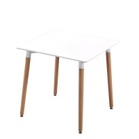 Infinity Homeware Florence Dining / Workplace Table - White - 80x80 cm Photo